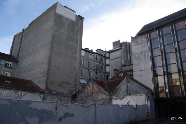 murs à peindre ? rue Duboué ( comme à Bruxelles)