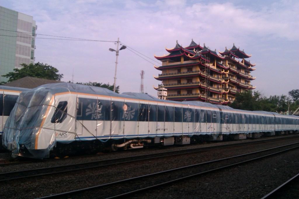 Brand New Raillink Train
