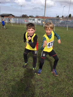 U9s win medals at Ashton XC