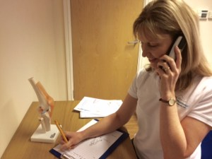 Altrincham Physiotherapy Telephone Consultation Triage Service Altrincham