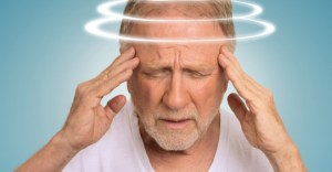 man suffering with dizziness Vestibular Rehabilitation Therapy