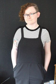Pinafore dresses and playsuits are my second favourite trend.