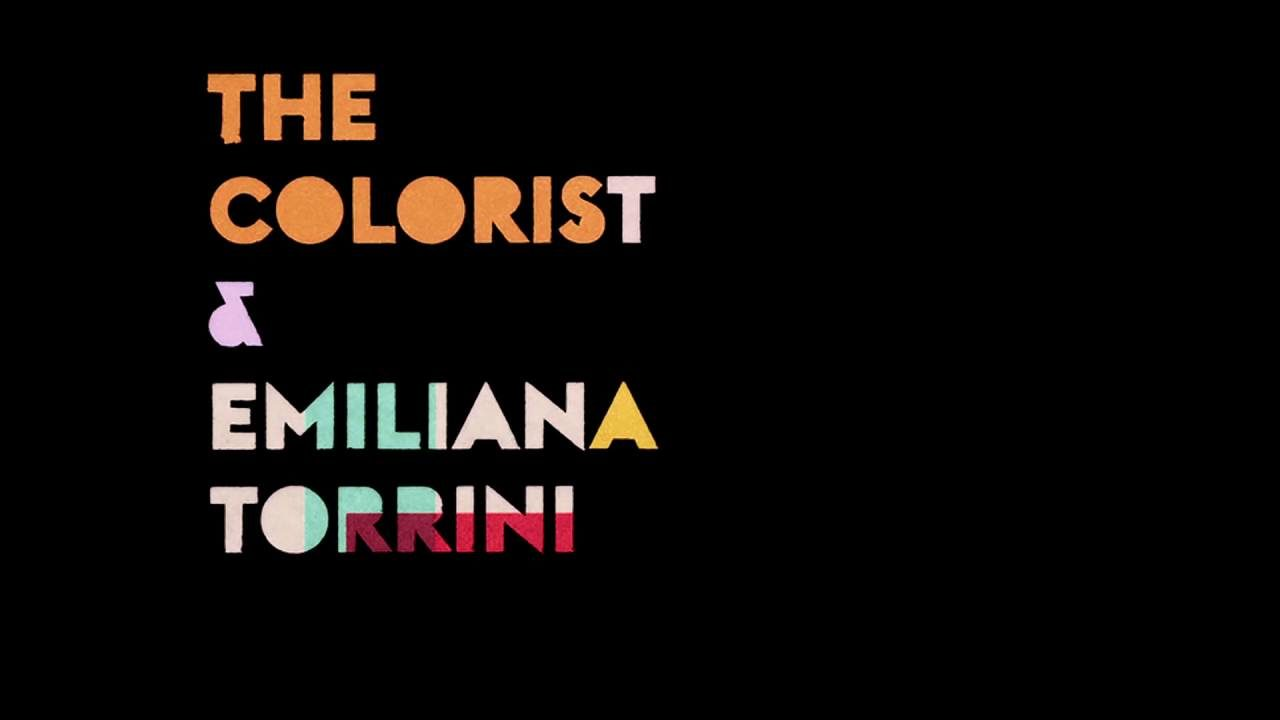 The Colorist & Emiliana Torrini – Speed Of Dark