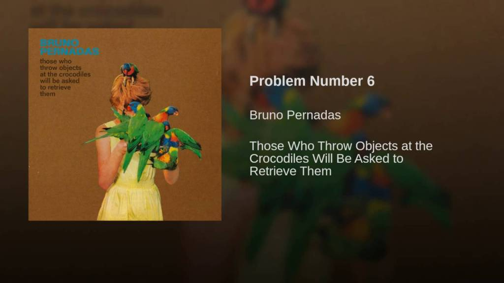 Bruno Pernadas – Problem Number 6