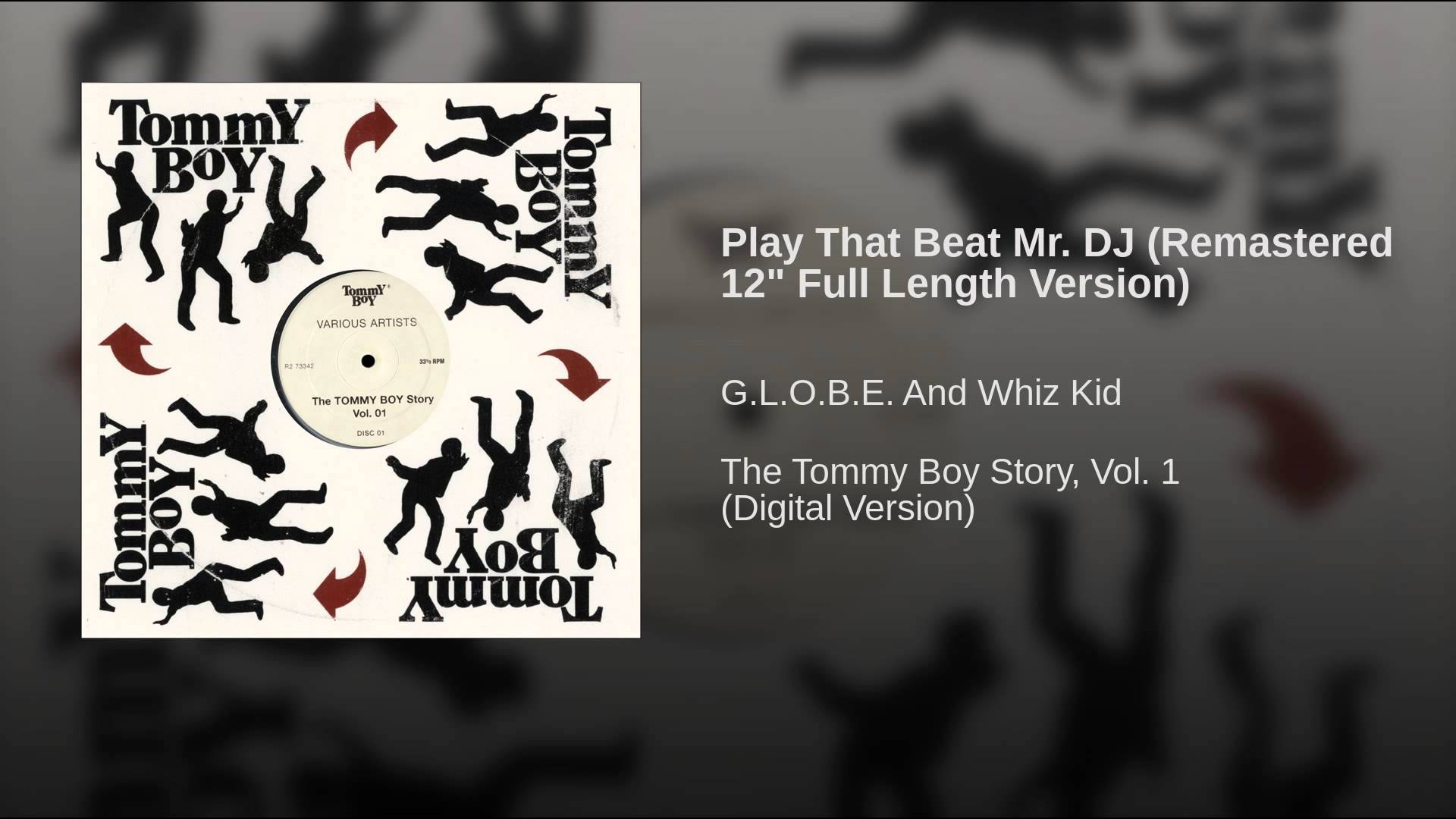 G.L.O.B.E. And Whiz Kid – Play That Beat Mr. DJ (Remastered 12″)