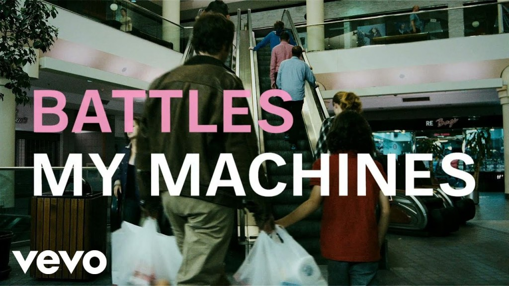 Battles – My Machines ft. Gary Numan