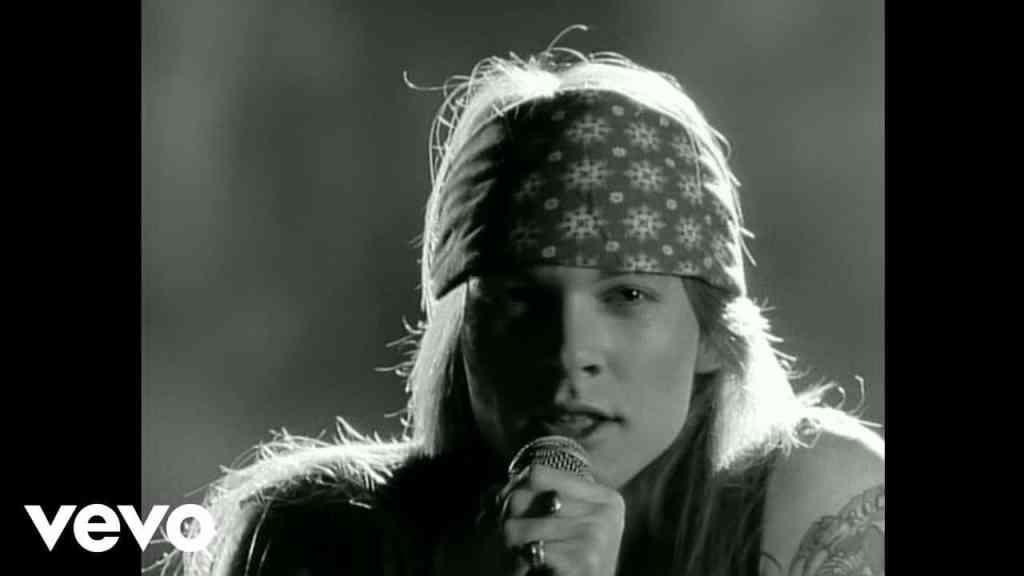 Guns N' Roses – Sweet Child O' Mine