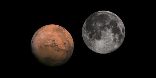 mars moon same size as - photo #41