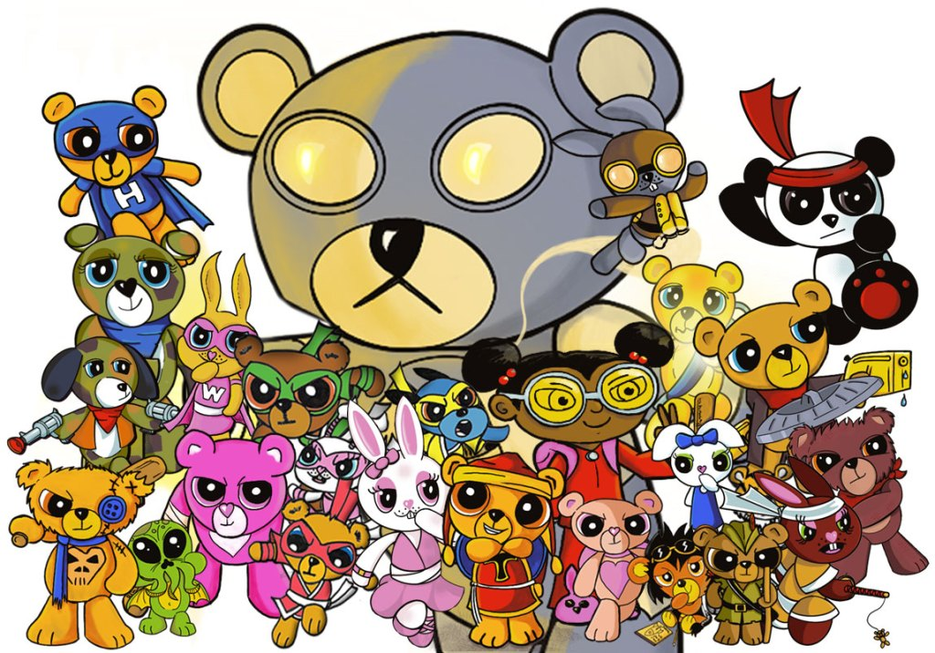 The Heroes Of The Teddyverse