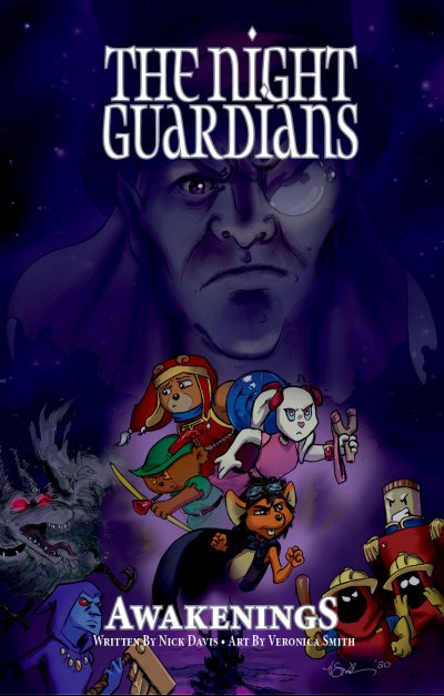 The Night Guardians - Cuddly Toys and Teddy Bears bumping back at the bumps in the night