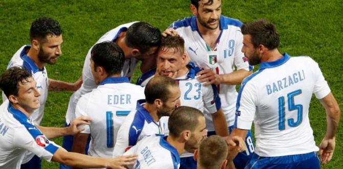 İtalyanlar EURO 2016'ya süper başladı!