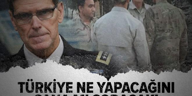 YPG ile poz veren ABD'li komutan Joseph Votel de konuştu.