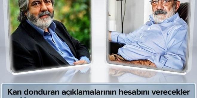 Ahmet Altan ve Mehmet Altan gözaltına alındı  .