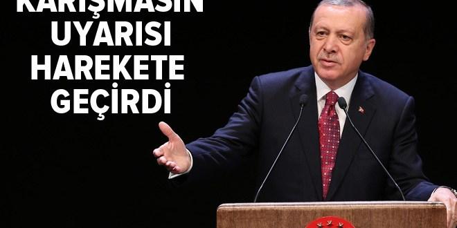 Erdoğan uyardı, hükümet harekete geçti