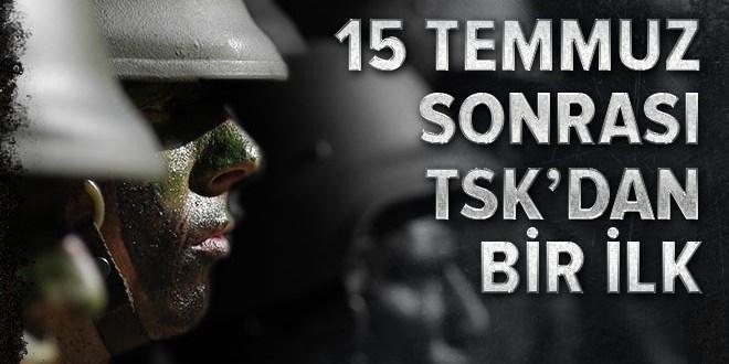 TSK 15 Temmuz'dan sonra ilk defa personel sayısını açıkladı  .