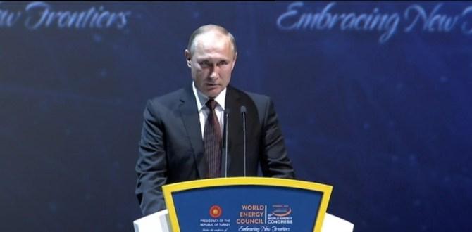Putin: Türk halkını tebrik ediyorum.