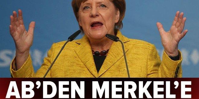 Avrupa Birliği'den Merkel'e Türkiye yanıtı