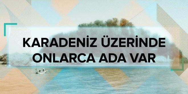 İşte Karadeniz'deki adalar…