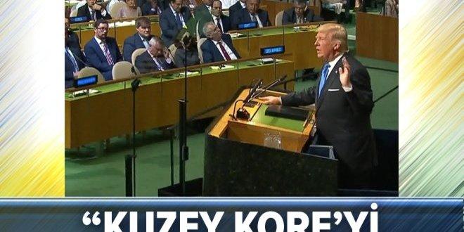 ABD Başkanı Donald Trump: Kuzey Kore'yi tamamen yok ederiz