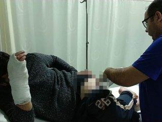 4 saldırgan Samsun'da bir kişiyi darp etti