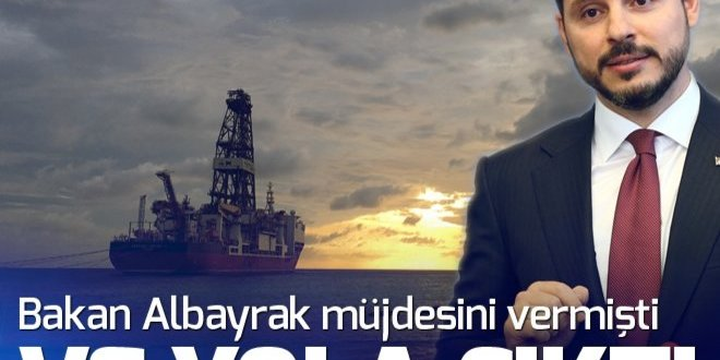 Bakan Albayrak müjdesini vermişti! Türkiye'nin ilk sondaj gemisi Deepsea Metro-2 geliyor.