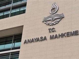 Anayasa Mahkemesi'nden CHP'nin başvurusuna ret