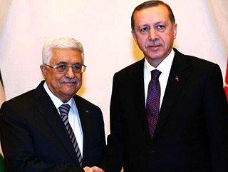 Cumhurbaşkanı Erdoğan Filistin lideri Abbas ile görüştü