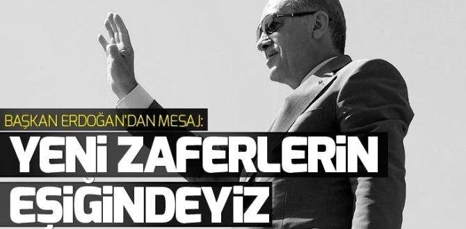 Başkan Erdoğan'dan 30 Ağustos mesajı GÜNDEM