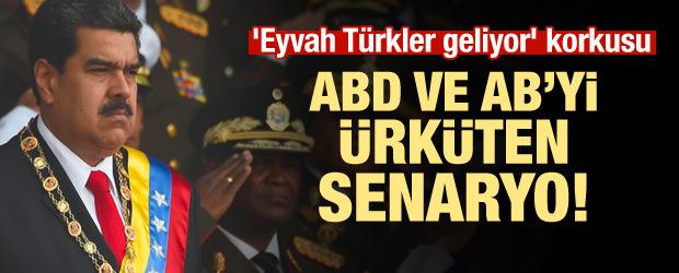 Eyvah Türkler geliyor' korkusu