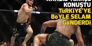 Rus dövüşçü Khabib Nurmagomedov, Türkçe selam verdi