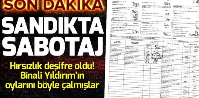Sandıkta sabotaj! İşte usulsüzlük belgeleri.