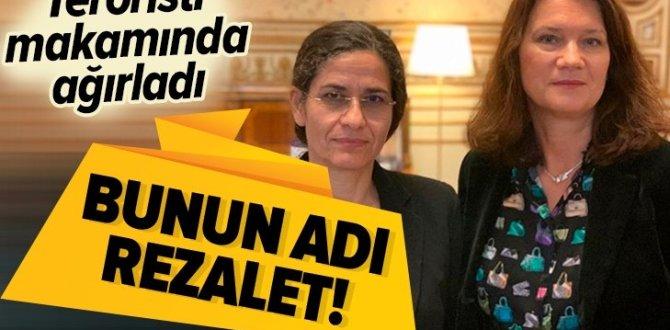 İsveç Dışişleri Bakanı Ann Linde'den skandal görüşme! İlham Ahmed'i makamında ağırladı .