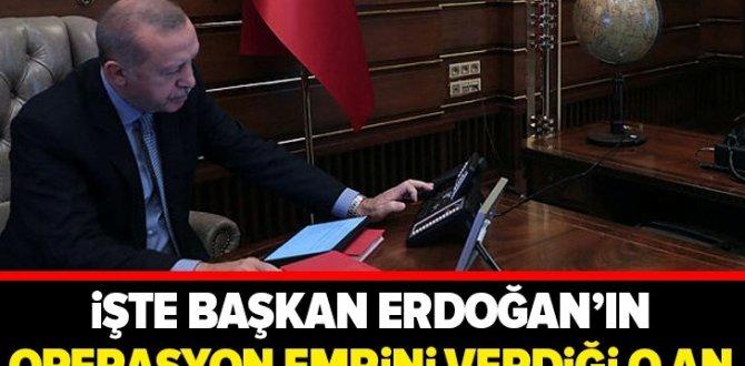 Başkan Erdoğan: Barış Pınarı Harekatı başlamıştır
