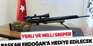 Başkan Erdoğan'ın direktifleriyle yerli 'sniper' üretildi! İşte özellikleri .