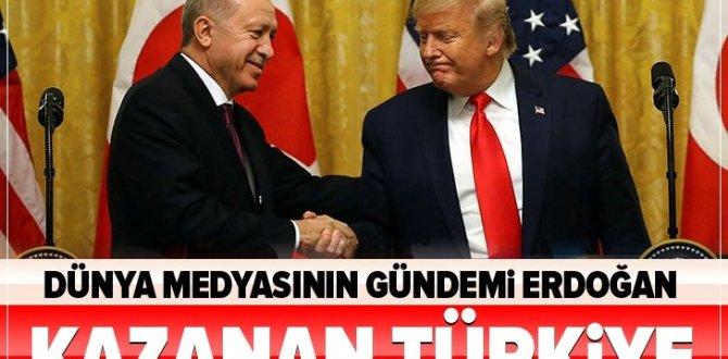 Dünya medyasının gündemi Cumhurbaşkanı Erdoğan! Kazanan Türkiye.