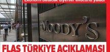 Kredi derecelendirme kuruluşu Moody's: Türkiye'nin ekonomisi toparlanıyor