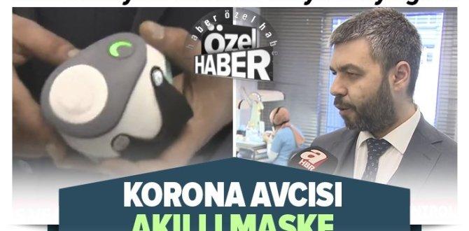 Son dakika: Koronavirüse karşı tamamen yerli ve milli akıllı maske üretildi! Koronayı böyle tespit ediyor |Video.