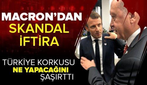 Macron'dan Türkiye'ye seçim iftirası! Müdahale riskleri belirlendi.