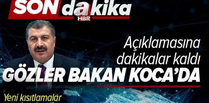 Virüsle mücadelenin 1 yılı! Sağlık Bakanı Fahrettin Koca hangi mesajları verecek? Yeni kısıtlamalar gelecek mi?