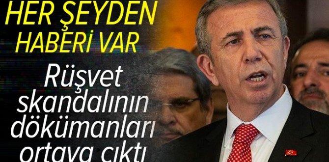 Mansur Yavaş 25 milyon liralık rüşvetten haberdar! İşte CHP'deki rüşvet skandalının dökümanı