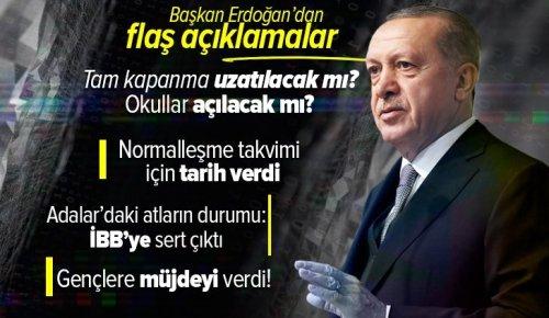 Son dakika | Başkan Erdoğan'dan 81 İlimizden 560 Genç ile En Uzun İftar Sofrası programında önemli açıklamalar .