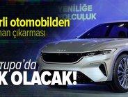 Son dakika: Avrupa'da ilk olacak! Yerli otomobil TOGG'dan Almanya çıkarması: 5 farklı model üretecek