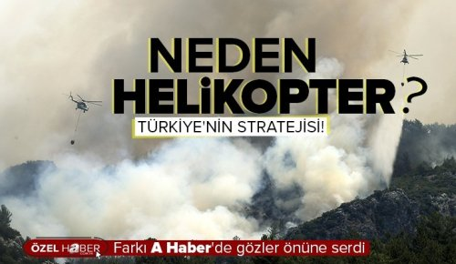 Orman yangınlarıyla nasıl mücadele ediliyor? Helikopter mi uçak mı?.
