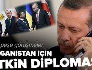 Başkan Erdoğan'dan peş peşe görüşmeler   Afganistan için etkin diplomasi.