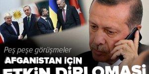 Başkan Erdoğan'dan peş peşe görüşmeler | Afganistan için etkin diplomasi.