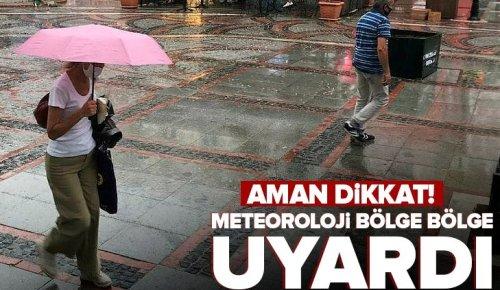 19 Eylül İstanbul, İzmir, Ankara hava durumu: Bugün hava nasıl olacak? Meteoroloji saat verdi | Sağanak yağış uyarısı.