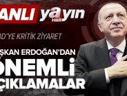 Son dakika: Başkan Recep Tayyip Erdoğan ABD'ye gidiyor! Başkan Erdoğan'dan önemli açıklamalar.