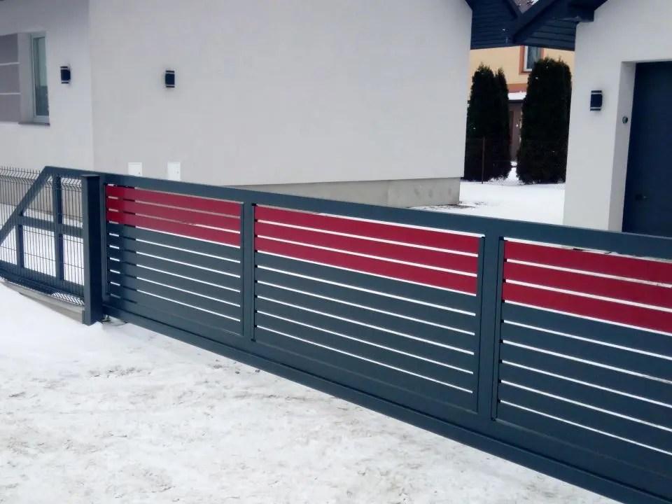 ALUgate ogrodzenie aluminiowe AG120 5
