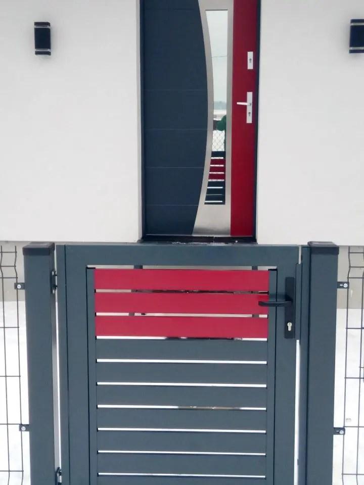 ALUgate ogrodzenie aluminiowe AG120 6