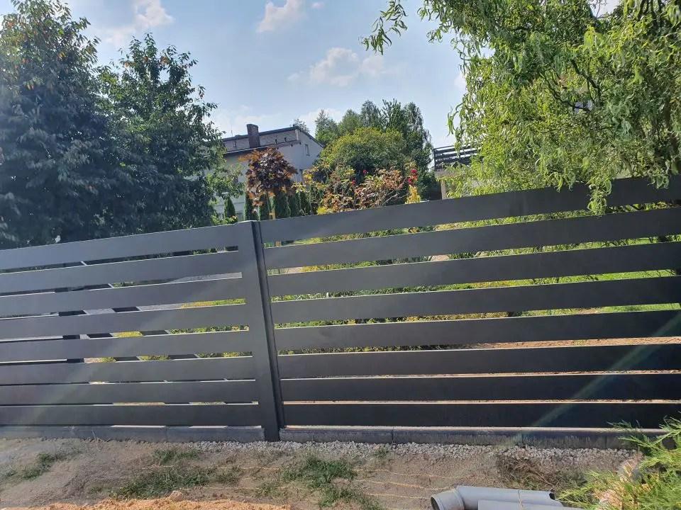 ALUgate ogrodzenie aluminiowe AG150 4